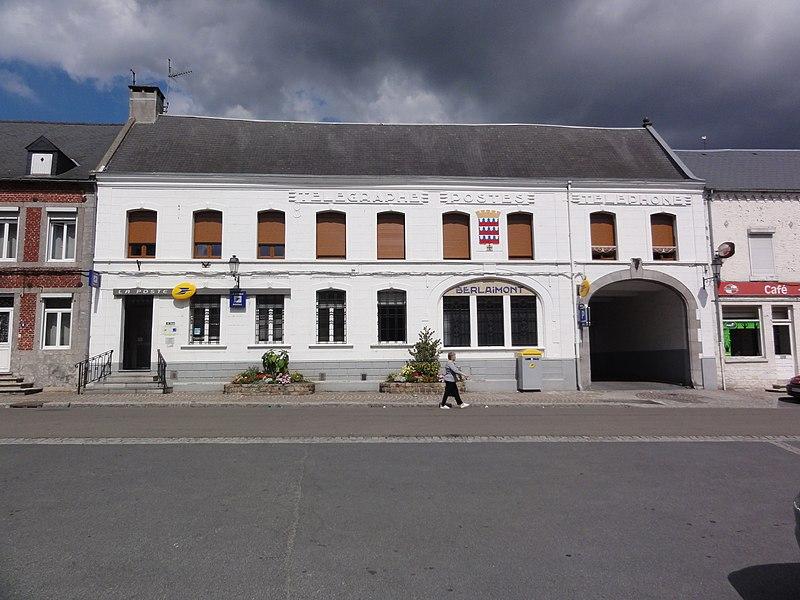 Berlaimont (Nord, Fr) la poste