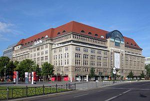 Kaufhaus des Westens - Image: Berlin, Schoeneberg, Tauentzienstrasse 21 24, Ka De We