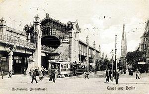 Bülowstraße (Berlin U-Bahn) - Bülowstraße station about 1902