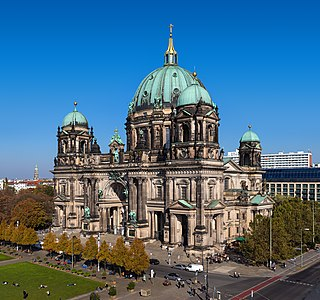 Berlin Cathedral Lutheran church in Berlin