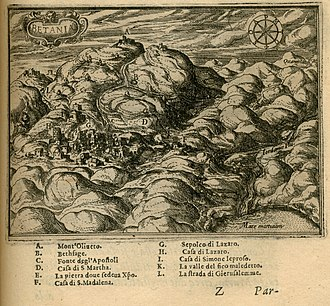 Al-Eizariya - Image: Betania Zuallart Jean 1587
