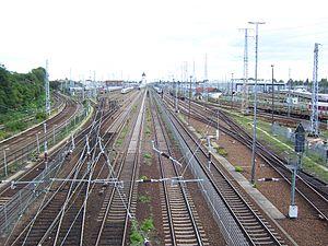 Berlin-Rummelsburg Betriebsbahnhof station - Facilities of the Betriebsbahnhof Berlin-Rummelsburg