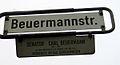 Beuermannstraße Hannover Senator Carl Beuermann 1855-1937, ab 1898 Bürgervorsteher-Senatro von 1902-1924, Verdienste um das Schützenwesen.jpg
