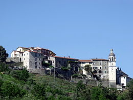 Panorama di Beverino Castello