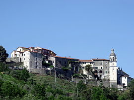 Panorama von Beverino (Castello)