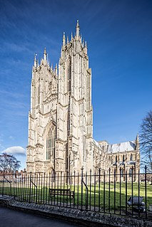 Beverley Minster Church in England