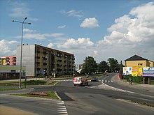 Skrzyżowanie ulic Tarnogrodzkiej, Kościuszki i Krzeszowskiej