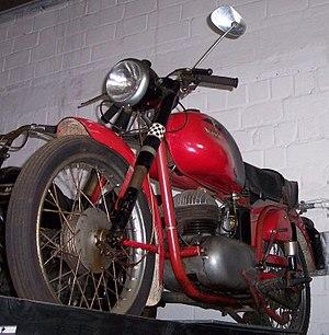 Bianchi (motorcycles) - Bianchi Mendola 125cc of 1960
