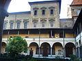 Biblioteca medicea laurenziana dal chiostro di san lorenzo.JPG