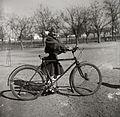 Bicycle, girl Fortepan 100857.jpg