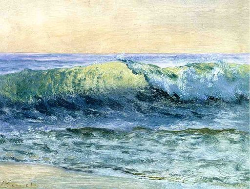 Bierstadt Albert The Wave