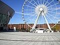 Big wheel outside Albert dock - geograph.org.uk - 2058223.jpg