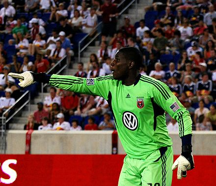 Bill Hamid was D.C.'s first Academy signing. BillHamid (cropped).jpg