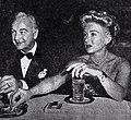 Bill Boyd and Grace Bradley at Ciro's, 1949.jpg