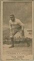 Bill Gleason, Philadelphia Athletics, baseball card portrait LCCN2008675107.tif