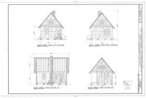 Biltmore Forestry School, Brevard, Transylvania County, NC HABS NC-402 (sheet 9 of 9).png