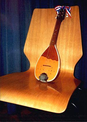 Tamburica - Image: Bisernica, instrument (size)