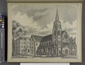 Bishop's House.; St. Joseph's Cathedral, Buffalo, N.Y. NYPL1584505.tiff