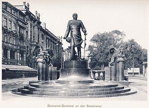 Robert Diez - Bismarck Memorial, Dresden (c.1910)
