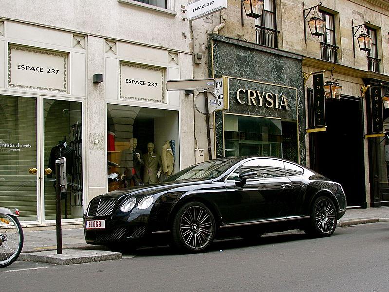 File:Black Bentley Continental GT Speed.jpg