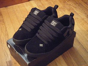 DC Shoes - A pair of DC Shoes