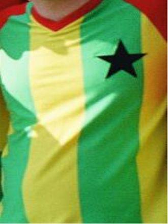 Ghana national football team - Ghana home shirt: 1970s–1980s