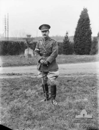 Thomas Blamey - Blamey in Belgium, March 1919
