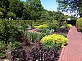 Blick über Garten ohne Grenzen am Schloss Dagstuhl Saarland bei Wadern.JPG