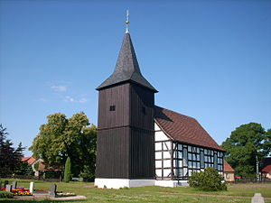 Elsterheide - Church in Bluno