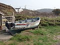 Boat drawn up from Millook Haven - geograph.org.uk - 411295.jpg