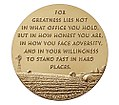 Bob Dole Congressional Gold Medal (reverse).jpg