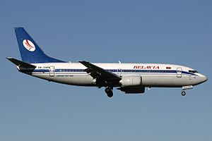 Belavia - Belavia Boeing 737-300  wearing the old livery