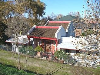 Yuba County, California - Image: Bok Kai Temple Far