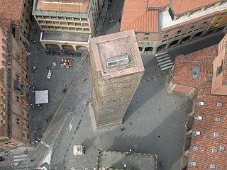 city square Bologna, Italy