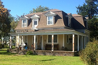 National Register of Historic Places listings in Lincoln County, Oklahoma - Image: Bon Ton House Stroud Ok