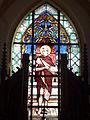 Bonningues-lès-Ardres (Pas-de-Calais) église, vitrail 01.JPG