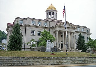 Boone County, West Virginia - Image: Boone County Courthouse West Virginia