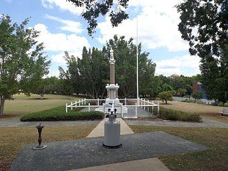 Booval, Queensland - Booval War Memorial, 2015