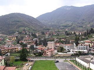 Borgo di Terzo Comune in Lombardy, Italy