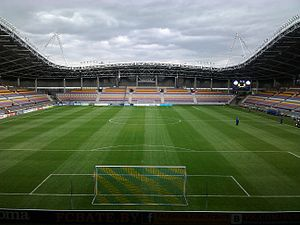 Football in Belarus - Borisov Arena is home ground of club FC BATE Borisov.