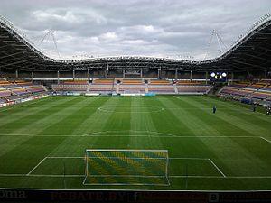 Borisov Arena - Image: Borisov Arena Stands 2