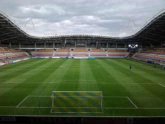 Football in Belarus - Borisov Arena is home ground of club FC BATE Borisov.