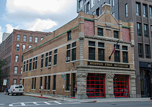 Congress Street Fire Station - Image: Boston Fire Museum