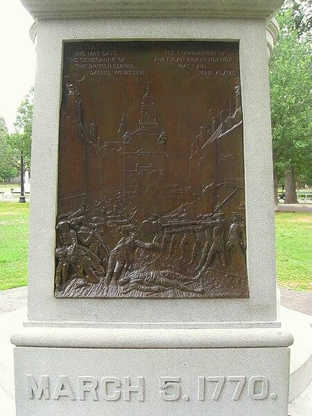 ... 2011-19: The Boston Massacre Site Marker finally gets some respect