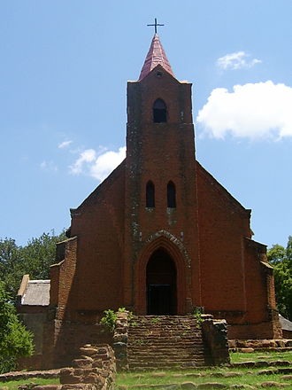 Botshabelo, Mpumalanga - Image: Botshabelo church 2004