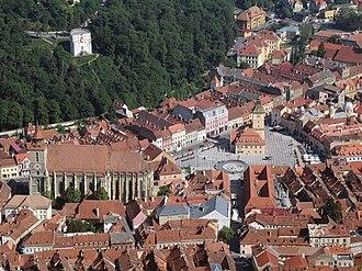 Brașov County - Image: Brasov, Romania (26523347959)