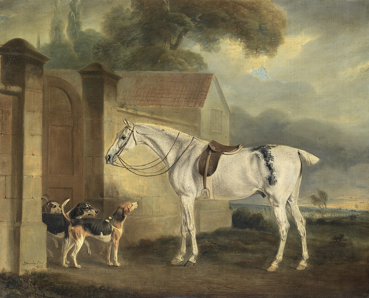 Famous Horse And Fox Hound Paintings