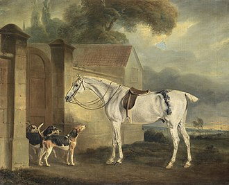Cottesmore Hunt - Image: Brass, at Cottesmore with the Cottesmore Hounds, oil on canvas painting by John Ferneley Snr, 1818