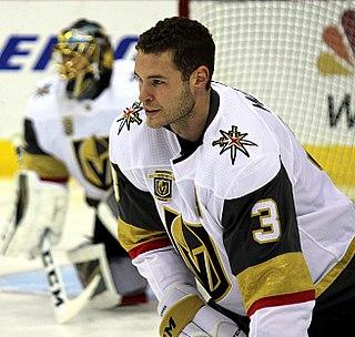Brayden McNabb Canadian ice hockey player