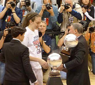 2013–14 Connecticut Huskies women's basketball team - Breanna Stewart wins AAC Tournament Most Outstanding Player award
